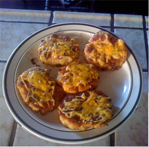 frying mashed potato pancakes